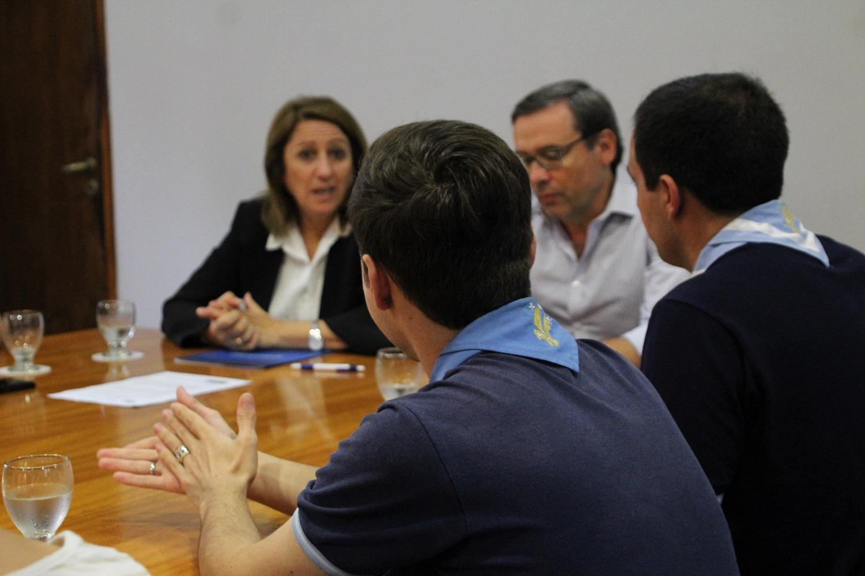 Firma de convenio con Scout argentina