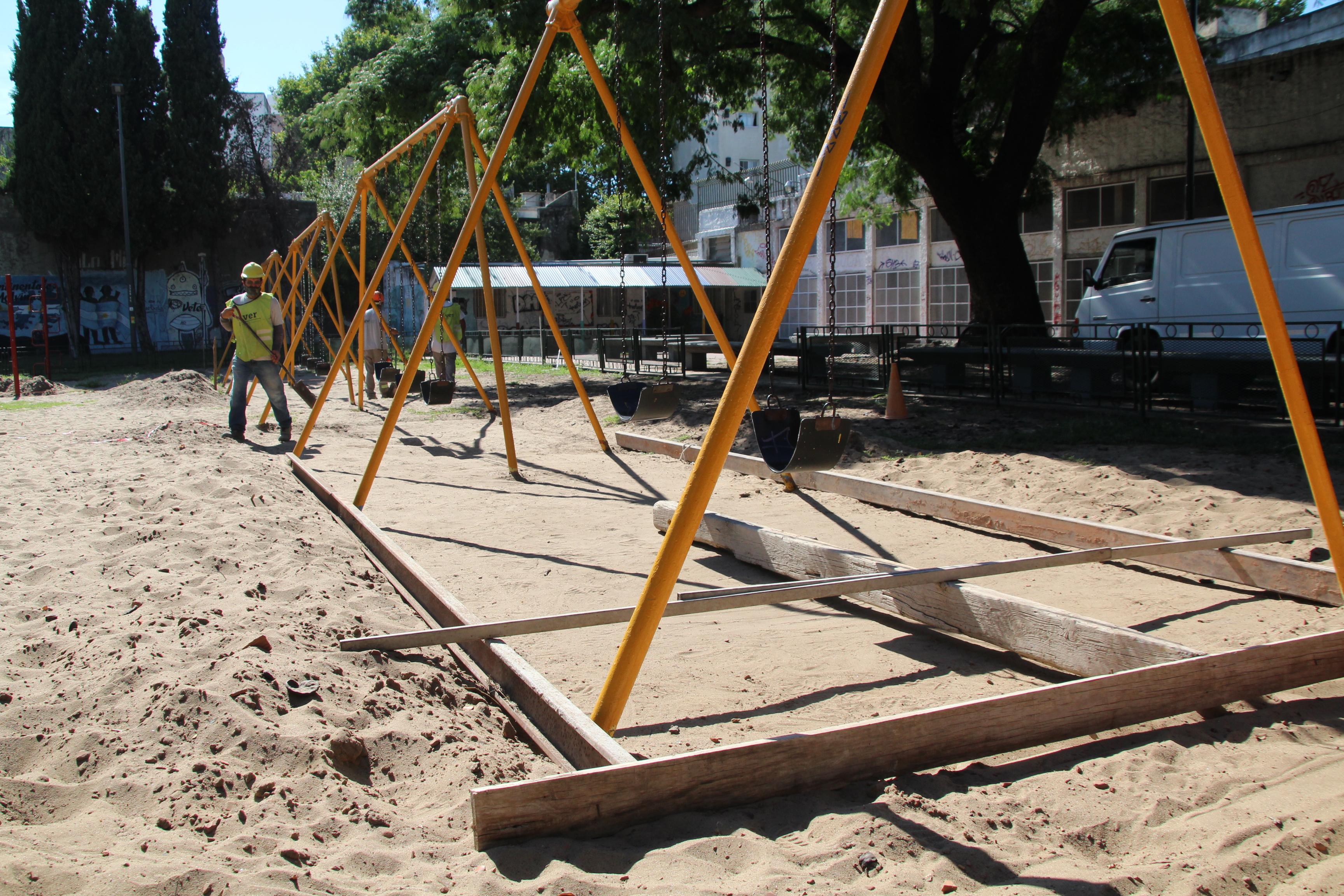 plaza remodelación